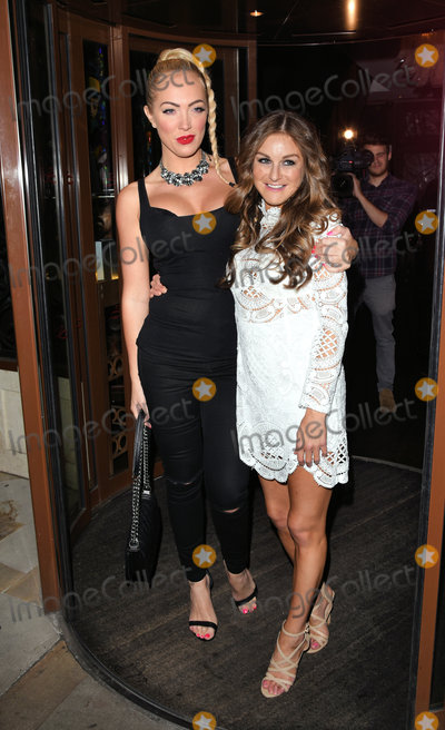 Aisleyne Horgan Wallace Photo - London UK Aisleyne Horgan Wallace and Nikki Grahame at Nikki For JYYLondon Launch Party at Sanctum Soho Hotel Warwick Street London on Monday 14 September 2015Ref LMK392 -58145-150915Vivienne VincentLandmark Media WWWLMKMEDIACOM