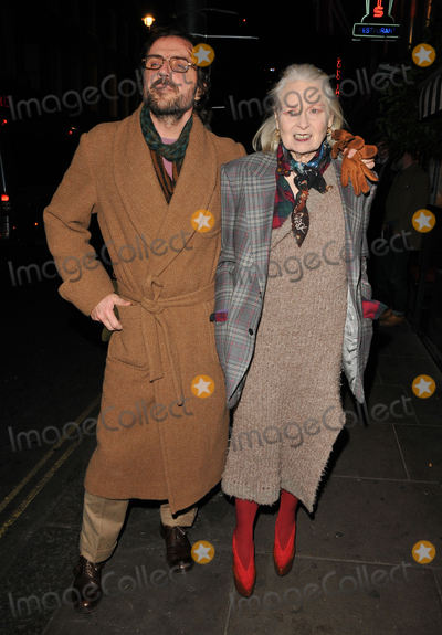 Andreas Kronthaler Photo - London UK  050117Andreas Kronthaler and Dame Vivienne Westwood at the Vivienne Westwood x BFC LFW (Mens) aw 2017 party Quo Vadis Dean Street5 January 2017Ref LMK315-62354-050117Can NguyenLandmark MediaWWWLMKMEDIACOM