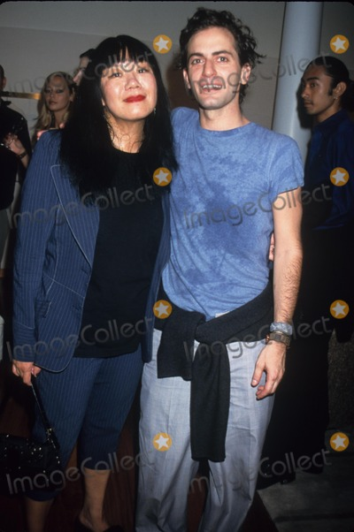 Anna Sui Photo - Anna Sui with Marc Jacobs at Louis Vuitton Store Opening Party in New York 1998 K13298rh Photo by Rose Hartman-Globe Photos Inc