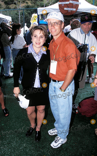 Kerri Strug Photo - a Time For Heroes Los Angeles CA 06-07-1998 Scott Hamilton and Kerri Strug Photo by Nina Prommer-Globe Photos Scotthamiltonretro
