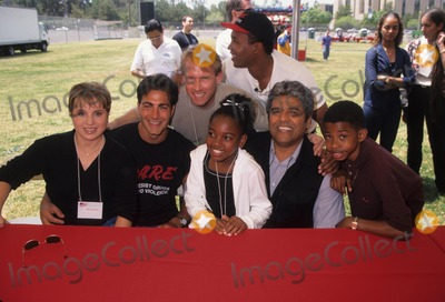 Ashley Clark Photo - Kerri Strug with M Bergin  B Conner  Ashley Clark S R Leonard  Erik Estrada and Marcus Paulk at Dare Salute to the Children Carnival Los Angeles 1999 K15619mr Photo by Lisa Rose-Globe Photos Inc