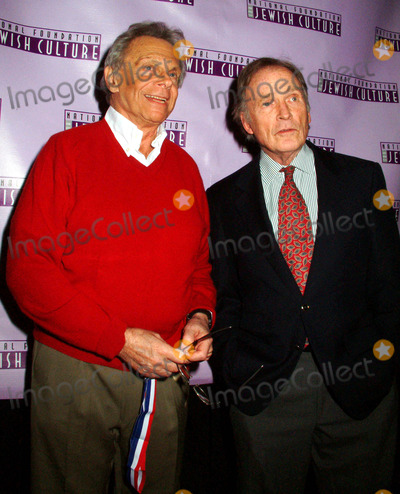 Alan King Photo - K34438MLTHE NATIONAL FOUNDATION OF JEWISH CULTURE TO PRESENT THE FIFTH ANNUAL ALAN KING AWARD IN AMERICAN JEWISH HUMOR TO MORT SAHLAT THE MANDARIN ORIENTAL HOTEL IN  NEW YORK CITY 12042003PHOTO BY MITCHELL LEVYRANGEFINDERGLOBE PHOTOS INC  2003MORT SAHL_DICK CAVETT
