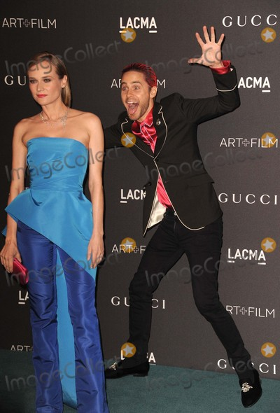 Jared Leto Photo - Jared Leto Diane Kruger attending the 2015 Lacma Artfilm Gala Held at Lacma in Los Angeles on November 07 2015 Photo by David Longendyke-Globe Photos Inc