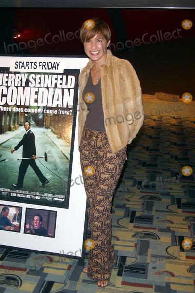 Jerry Seinfeld Photo -  Jerry Seinfeld S New Movie Comedian Opens at Sunshine Cinema in Soho New York City10092002 Photo by John BarrettGlobe Photos Inc 2002 Mariska Hargitay