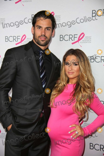 Eric Decker Photo - The Breast Cancer Research Foundations Annual Hot Pink Party 2015 the Waldorf Astoria NYC April 30 2015 Photos by Sonia Moskowitz Globe Photos Inc Eric Decker Jessie James Decker