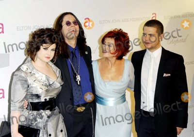 Jack  Osbourne Photo - Kelly Osbourne Ozzy Osbourne Sharon Osbourne and Jack Osbourne Arriving the Elton John Oscar Party at Pacific Design Center in West Hollywood Los Angeles CA 02-25-2007 Photo by Alec Michael-Globe Photosinc