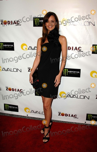 April Scott Photo - Private Showing of the Zodiak Show at the Avalon in Hollywood CA 09-09-2008 Image April Scott Photo James Diddick  Globe Photos