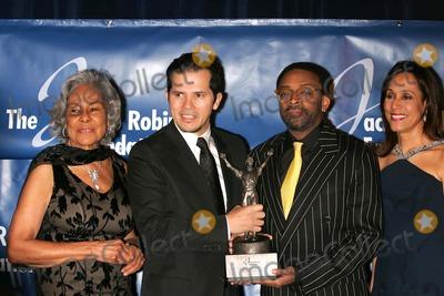 Rachel Robinson Photo - The Jackie Robinson Annual Awards Gala Waldorf-astoria Hotel 03-05-2007 Photos by Rick Mackler Rangefinder-Globe Photos Inc2007 Rachel Robinson John Leguizamospike Lee and Della Britton Baeza
