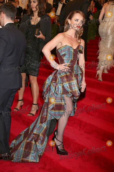 Christina Ricci Photo - The Metropolitan Museum of Art Costume Institute Gala Celebrating the Exhibition punkchaos to Couture the Metropolitan Museum of Art NYC May 6 2013 Photos by Sonia Moskowitz Globe Photos Inc 2013 Christina Ricci