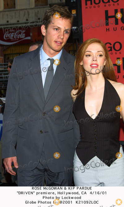 Kip Pardue Photo - Rose Mcgowan  Kip Pardue Driven Premiere Hollywood CA 41601 Photo by Lockwood Globe Photos Inc 2001
