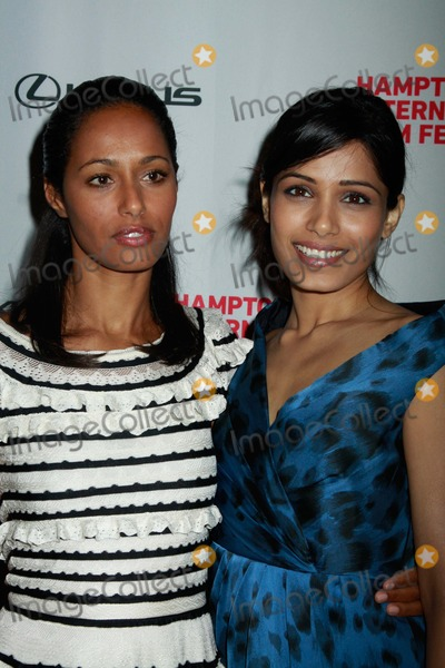 Rula Jebreal Photo - The Hamptons International Film Festival Miral Screening 2 Regal East Hampton Cinema 10-09-2010 Rula Jebreal Frieda Pinto Photo by Sonia Moskowitz-Globe Photos Inc 2010
