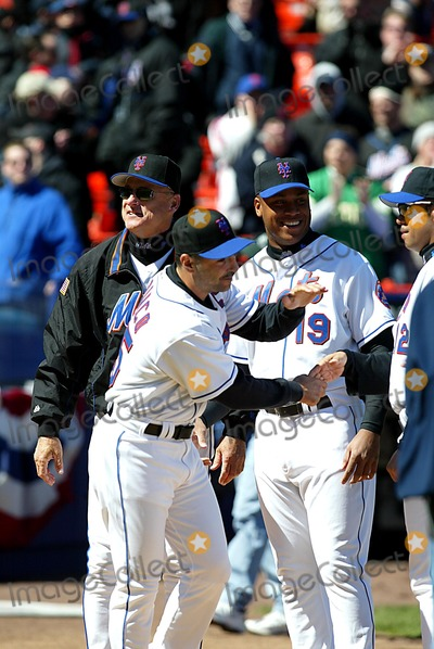 Art Howe Photo - John Franco_art Howe K29837lcv Opening Day at Shea Stadium Chicago Cubs Vs New York Mets in Queens New York City 3312003 Photo ByGlobe Photos Inc