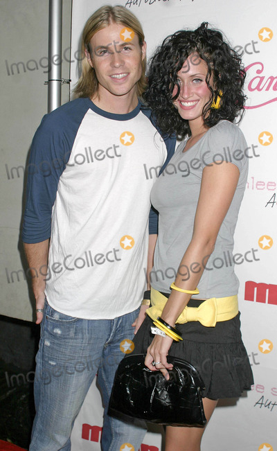 Ashley Angel Photo - Ashlee Simpson Record Release Party at Concorde Hollywood California 07232004 Photo by Clinton H WallaceipolGlobe Photos Inc 2004 Ashley Angel and Tiffany Lynn