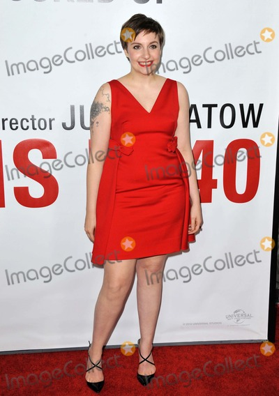 Lena Dunham Photo - Lena Dunham attending the Los Angeles Premiere of This Is 40 Held at the Graumans Chinese Theatre in Hollywood California on December 12 2012 Photo by D Long- Globe Photos Inc