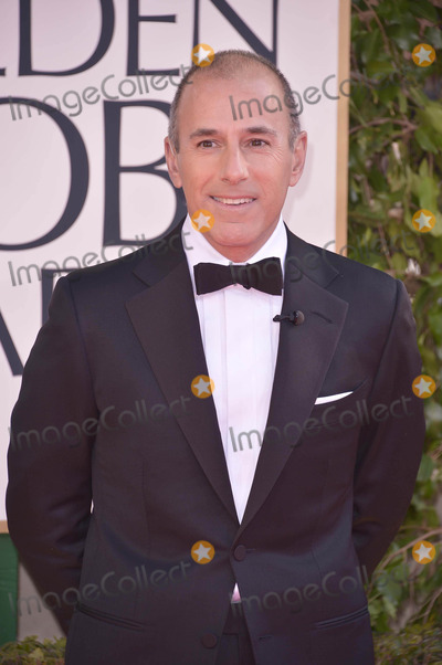 Matt Lauer Photo - Matt Lauer Arrives on the Red Carpet to the 70th Golden Globe Awards at the Beverly Hilton Hotel on January 13 2013 in Beverly Hills CA Photos by Joe White-Globe Photos Inc