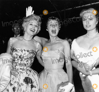 June Allyson Photo - Eva Gabor with June Allyson and Martha Hyer Supplied by Globe Photos Inc