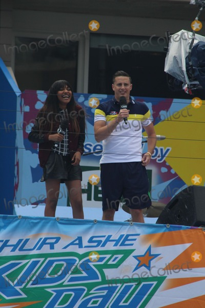 China McClain Photo - L-r China Mcclain Jeff Stuphen Attend 2014 Arthur Ashe Kids Day at Usta Billie Jean King National Tennis Center on 8232014 in Flushing Qns NY