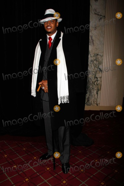 Carmelo Anthony Photo - Carmelo Anthony Arrives For Bette Midlers Hulaween Gala at the Waldorf Astoria in New York on October 28 2011 Photo by Sharon NeetlesGlobe Photos Inc