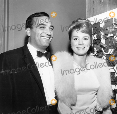 Inger Stevens Photo - Inger Stevens with Allen Baron at writerssupplied by Globe Photos Inc