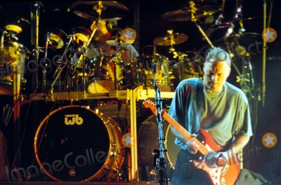 David Gilmour Photo - Pink Floyd Concert at Cologne Germany 08-02-1994 Photo Dpa-ipol-Globe Photos Inc 1994 Pink Floyd David Gilmour