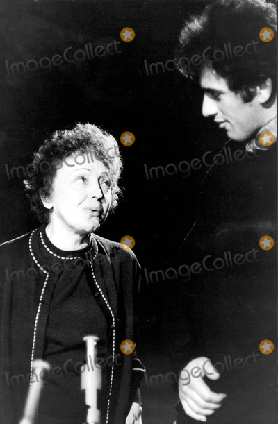 Edith Piaf Photo - Edith Piaf and Theo Sarapo Photo by Photographic ServiceipolGlobe Photos Inc