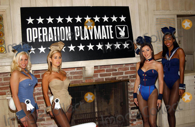 Vanessa Gleason Photo - K29724FB OPERATION PLAYMATE LAUNCHED BY PLAYBOYPLAYMATES IN BEVERLY HILLS CA THE PLAYMATES ARE MODELING EXCLUSIVE PLAYBOYBUNNY MILITARY OUTFITS3282003 PHOTO BY FITZROY BARRETT  GLOBE PHOTOS INC 2003STEPHANIE HEINRICH SHAUNA SAND VANESSA GLEASONAND NEFERTERI SHEPHERD