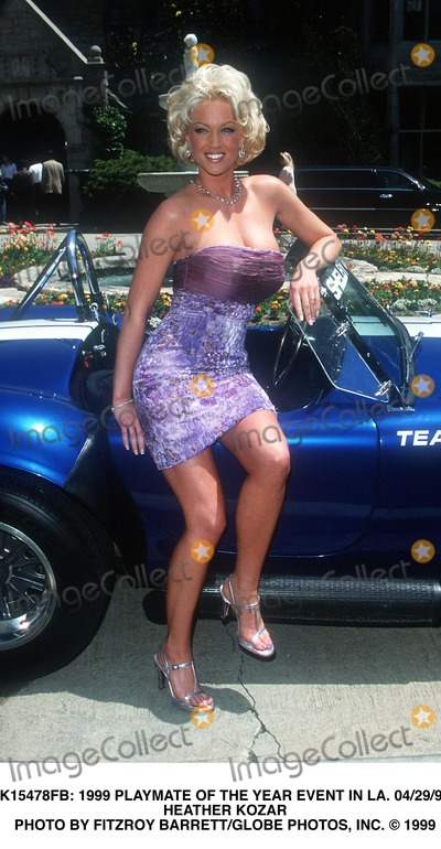 Heather Kozar Photo -  1999 Playmate of the Year Event in LA 042999 Heather Kozar Photo by Fitzroy BarrettGlobe Photos Inc