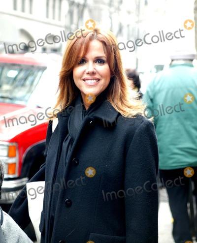 Maria Celeste Arraras Photo - Celebrities Out and About in New York City 22306 Photosbruce Cotler  Globe Photos Inc 2006 Telemundo Reporter Maria Celeste Arraras