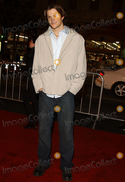 Jared Padalecki Photo -  a Walk to Remember Premier Graumans Chinese Theatre Hollywood CA 01232002 Photo by Amy GravesGlobe Photosinc2002 (D) Jared Padalecki