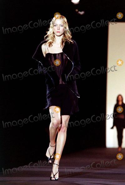 Alessandro DellAcqua Photo - Alessandro Dellacqua Milan Autumn  Winter 2003-4 Fashion Collection_030203 NewspixipolGlobe Photos Inc