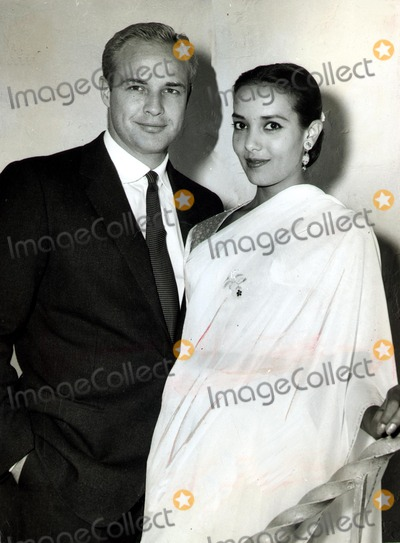 Anna Kashfi Photo - Marlon Brando and Anna Kashfi SmpGlobe Photos Inc