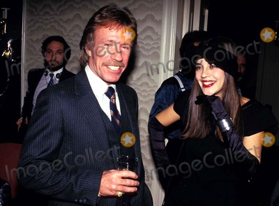 Chuck Norris Photo - Chuck Norris and Anat Atzmon Photo John Barrett  Globe Photos Inc 1986 Chucknorrisretro