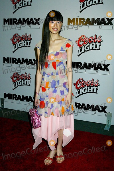 Chiaki Kuriyama Photo - the New York Premiere of Kill Bill Vol1 at the Ziegfeld Theatre  New York City 10072003 Photo Sonia Moskowitz  Globe Photosinc 2003 Chiaki Kuriyama