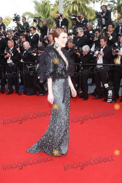 Julianne Moore Photo - Actress Julianne Moore attends the Premiere of Standing Tall During the Opening of the 68th Annual Cannes Film Festival at Palais Des Festivals in Cannes France on 13 May 2015 Photo Alec Michael