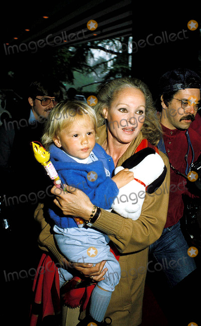 Ursula Andress and son