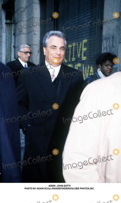 John Gotti Photo -  John Gotti Photo by Adam ScullrangefindersGlobe Photosinc