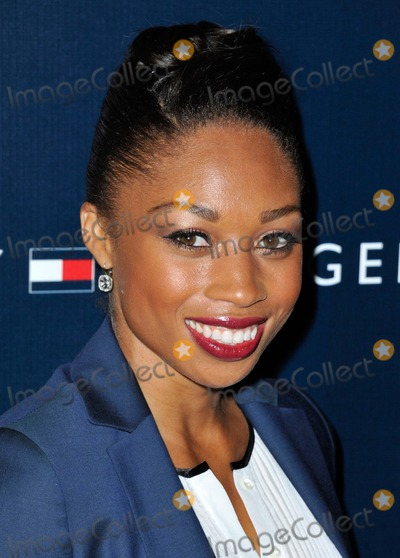 Allyson Felix Photo - Allyson Felix attending Tommy Hilfiger West Coast Flagship Grand Opening Event Held at Tommy Hilfiger in West Hollywood California on February 13 2013 Photo by D Long- Globe Photos Inc