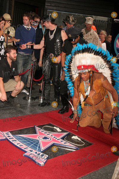 Village People Photo - the Village People Honored with a Star on the Hollywood Walk of Fame Hollywood Blvd Hollywood CA 091208 Felipe Rose Photo Clinton H Wallace-photomundo-Globe Photos Inc