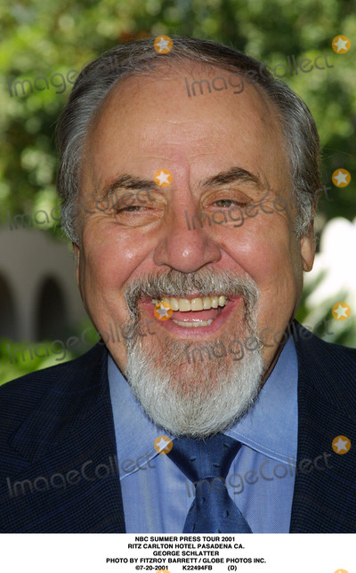 RITZ CARLTON Photo - NBC Summer Press Tour 2001 Ritz Carlton Hotel Pasadena CA George Schlatter Photo by Fitzroy Barrett  Globe Photos Inc 7-20-2001 K22494fb (D)