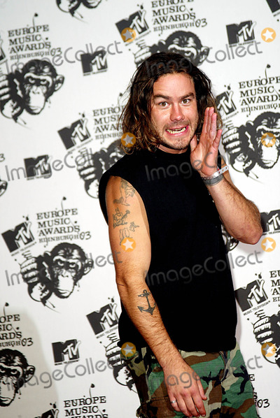 Chris Pontius Photo - Chris Pontius (Jackass) Mtv Europe Awards Western Harbour Leith Edinburgh Scotland 1162003 Photo Byalec MichaelGlobe Photos Inc 2003