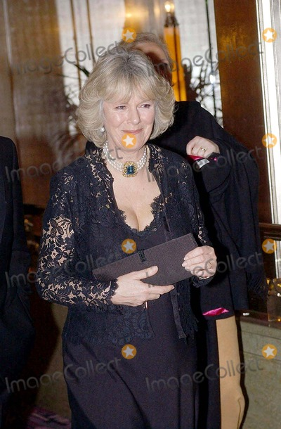 Camilla Parker-Bowles Photo - No Uk Rights Until 04032004 054269 03032004 Camilla Parker Bowles Accompanied Prince Charles the Prince of Wales to the Opening of an Art Exhibition at the Park Lane Hotel in London