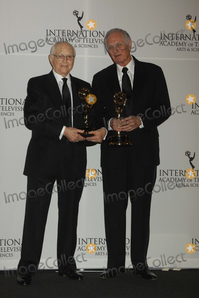 Alan Alda Photo - Alan Alda Right Left Norman Lear International Emmy Awards New York Hilton and Towers NYC 11192012 Photo Mitchell Levy Photo by Mitch Levy- Globe Photos Inc