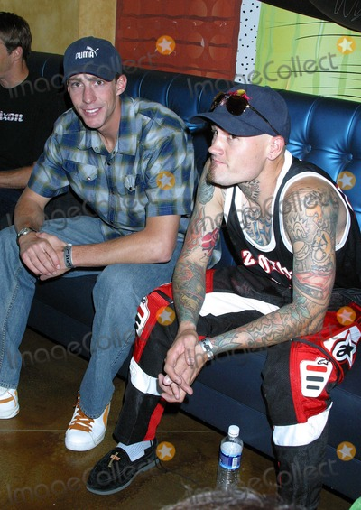Mike Metzger Photo - Tony Hawk at the Official Kick Off to the X Games X Hollywood and Highland Hollywood CA - 06172004 - Photo by Clinton HwallaceipolGlobe Photos Inc2004 Travis Pastrana and Mike Metzger