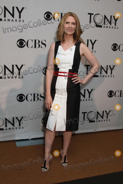 Cynthia Nixon Photo - The 2012 Tony Awards Meet the Nominees Press Reception the Millennium Broadway Hotel Times Square NYC May 2 2012 Photos by Sonia Moskowitz Globe Photos Inc 2012 Cynthia Nixon