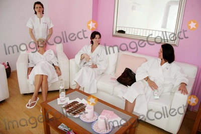 Carrie Stevens Photo - Playboy Bunnies at the Evian Detox Spa Beverly Hills CA 03-21-2006 Photo Clinton H WallacephotomundoGlobe Photos Brande Roderick Angel Boris and Carrie Stevens