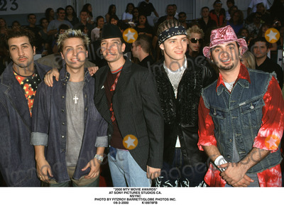 NSYNC Photo - 2000 Mtv Movie Awards at Sony Pictures Studios CA Nsync Photo by Fitzroy BarrettGlobe Photos Inc 6-3-2000