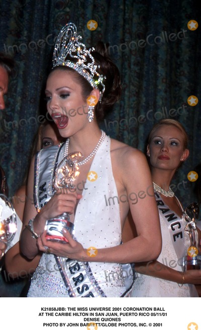 RIGGED, FRAUD MISS UNIVERSE 2001. Dayanara and Marc