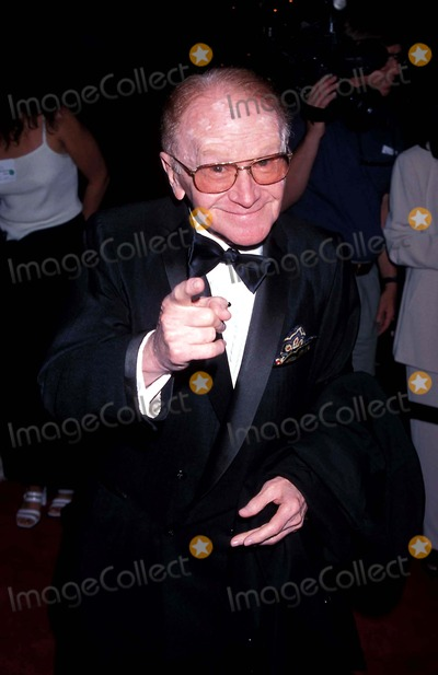 Milton Berle Photo - Milton Berle 90 Th Birthday Party Red Buttons Photo Milan Ryba - Globe Photos Inc 1998 Redbuttonsretro