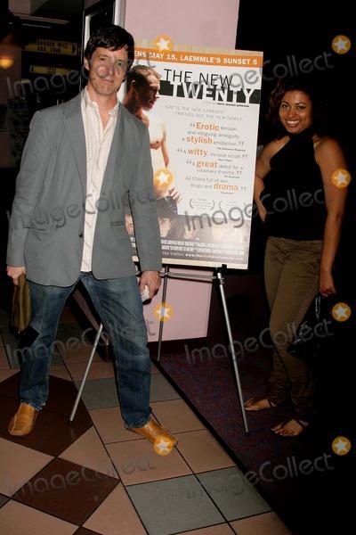 Abiodun Photo - the New Twenty Los Angeles Premiere Laemmles Sunset 5 Theatres West Hollywood CA 051509 the New Twenty Cast Members- L-r- Chris Mason Johnson-director and Aina Abiodun-producer Photo Clinton H Wallace-photomundo-Globe Photos Inc