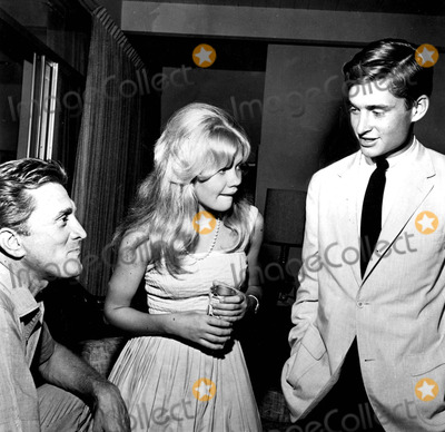 Hayley Mills Photo - Kirk Douglas Hayley Mills and Michael Douglas SmpGlobe Photos Inc